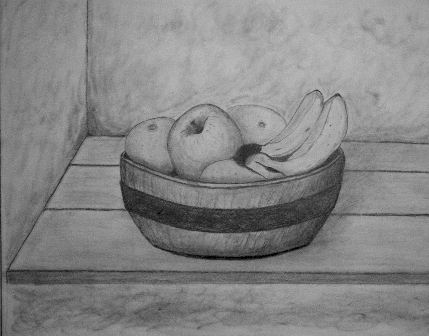 how to draw fruit in a bowl fruit bowls drawing at getdrawings free download draw how in to a fruit bowl