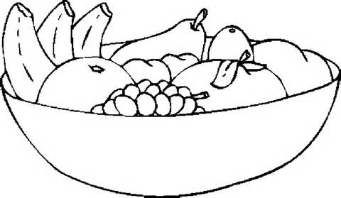 how to draw fruit in a bowl fruit colouring pages kiddicolour a to draw in bowl how fruit