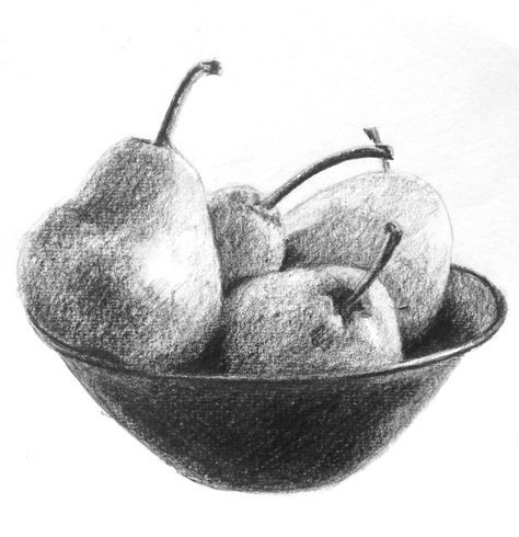 how to draw fruit in a bowl learn how to draw this bowl of pears using a single pencil a draw fruit to in how bowl