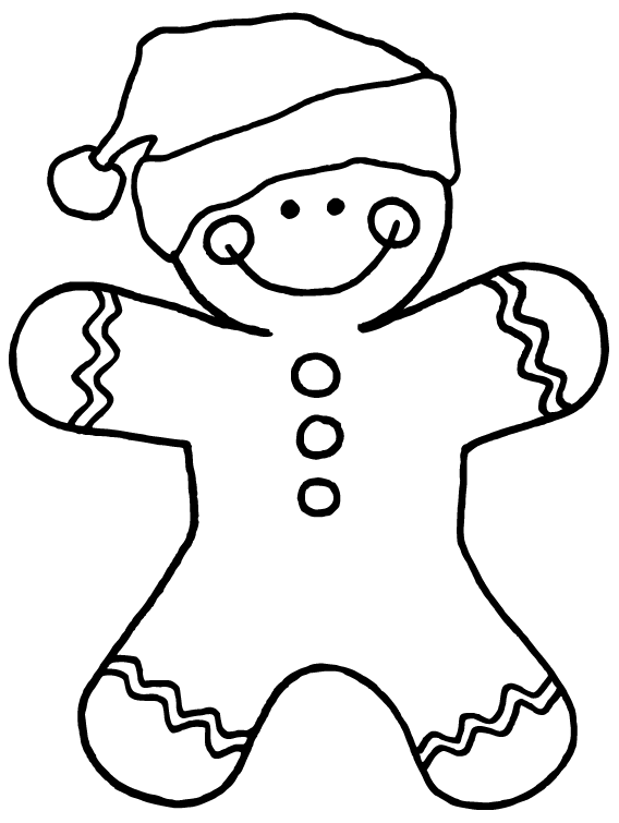 how to draw gingerbread man free gingerbread man digital stamp printable christmas gingerbread draw how to man