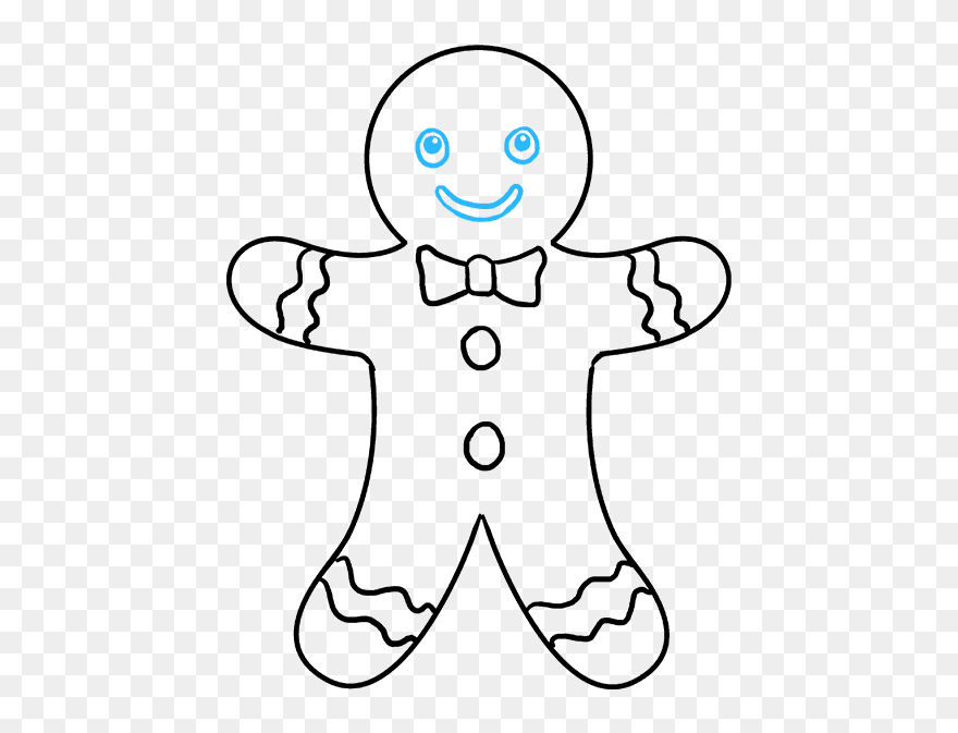 how to draw gingerbread man gingerbread man comments draw the gingerbread man39s to how man gingerbread draw