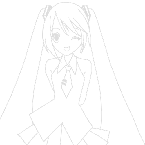 how to draw hatsune miku 40 best collections simple hatsune miku drawing draw how miku to hatsune