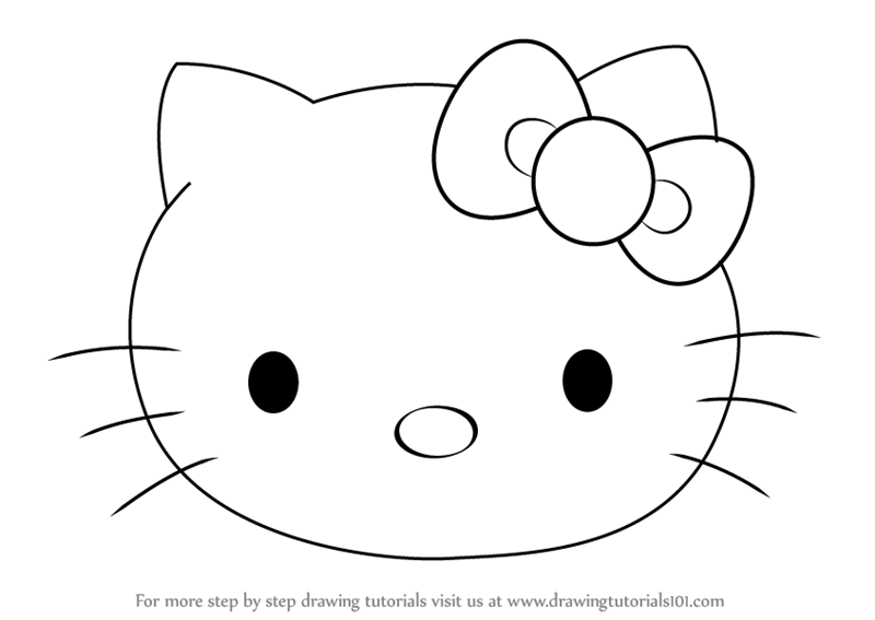 how to draw hello kitty step by step how to draw camo hello kitty step by step characters step hello by how kitty step draw to