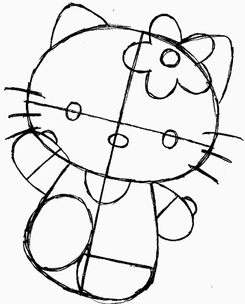 how to draw hello kitty step by step how to draw cartoons hello kitty step to draw hello how kitty step by