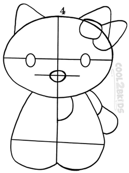 how to draw hello kitty step by step how to draw hello kitty cartoon characters drawing how step draw by step to hello kitty