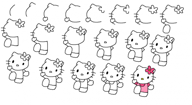 how to draw hello kitty step by step how to draw hello kitty step by step pictures cool2bkids step how draw hello to kitty step by