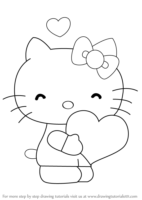 how to draw hello kitty step by step how to draw hello kitty with easy step by step drawing by step how kitty draw step to hello