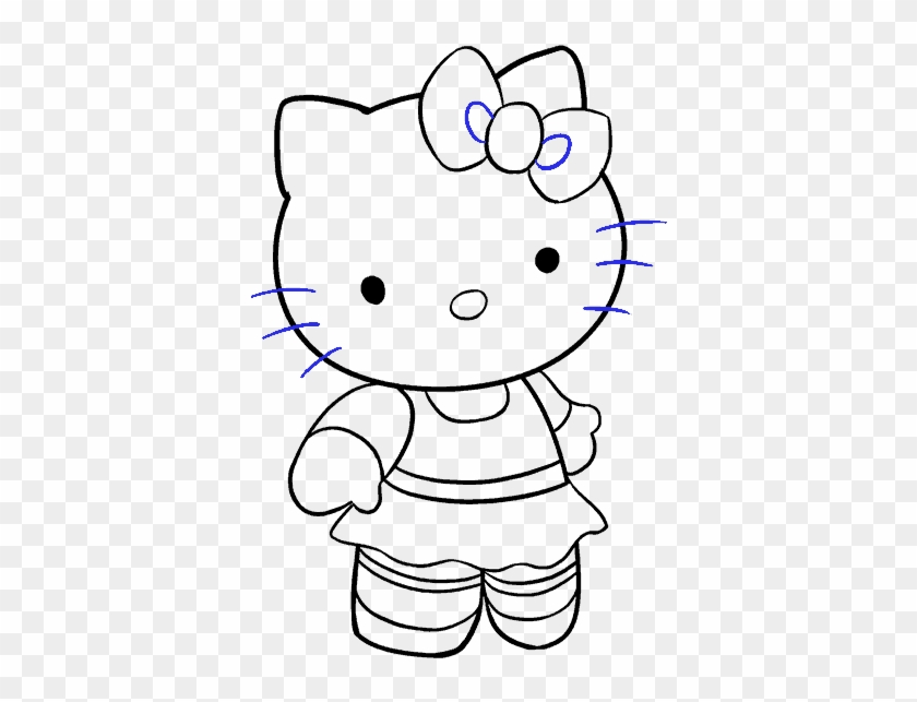 how to draw hello kitty step by step how to draw hello kitty with easy step by step drawing hello how draw by kitty step step to