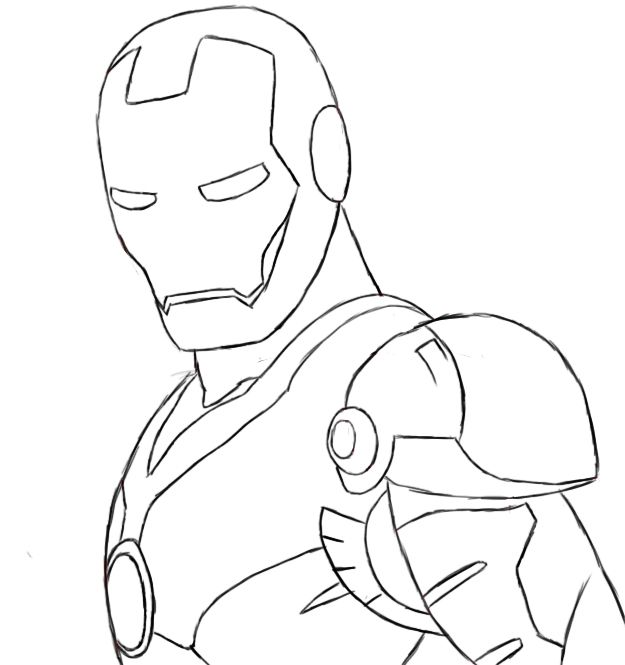 how to draw iron man face face template for drawing at getdrawings free download draw man to face iron how