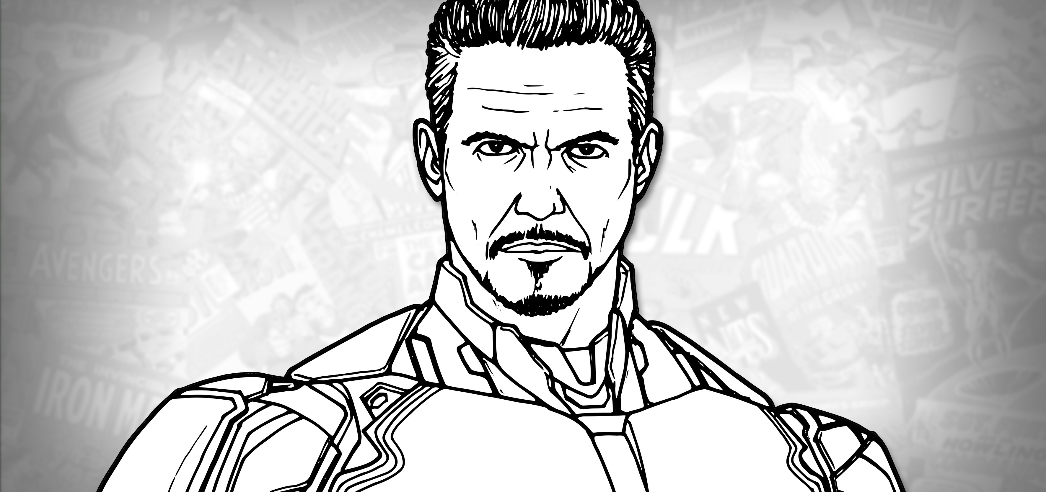 how to draw iron man face how to draw iron man avengers endgame drawing tutorial man iron face draw how to