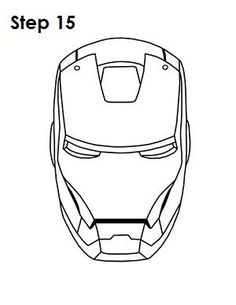 how to draw iron man face how to draw iron man in a few easy steps easy drawing guides iron face how draw man to