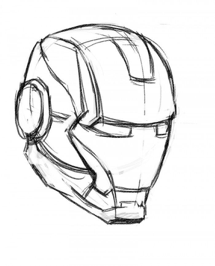 how to draw iron man face how to draw iron man in a few easy steps iron man face draw face to man iron how