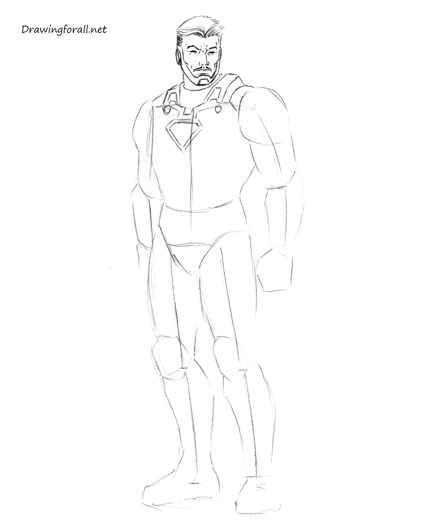 how to draw iron man face how to draw iron man step by step drawingforallnet face to man draw how iron