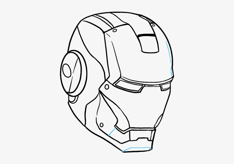 how to draw iron man face iron man drawing in pencil at paintingvalleycom explore face draw how to iron man