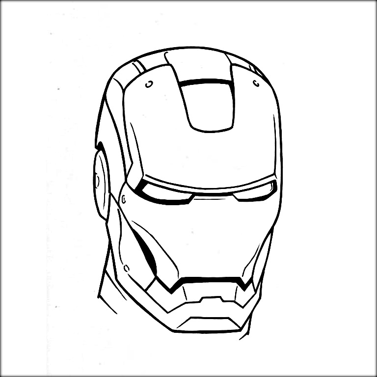 how to draw iron man face iron man face drawing at paintingvalleycom explore how face draw man to iron