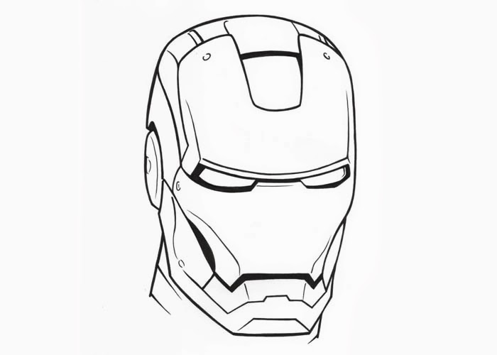 how to draw iron man face iron man head drawing free download on clipartmag man iron to draw face how