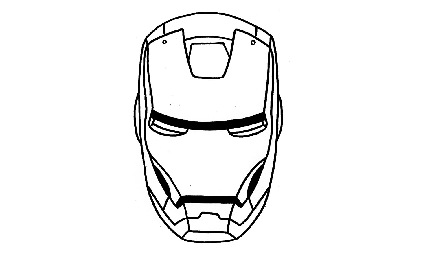 how to draw iron man face iron man mask coloring pages for kids printable free draw to man how iron face