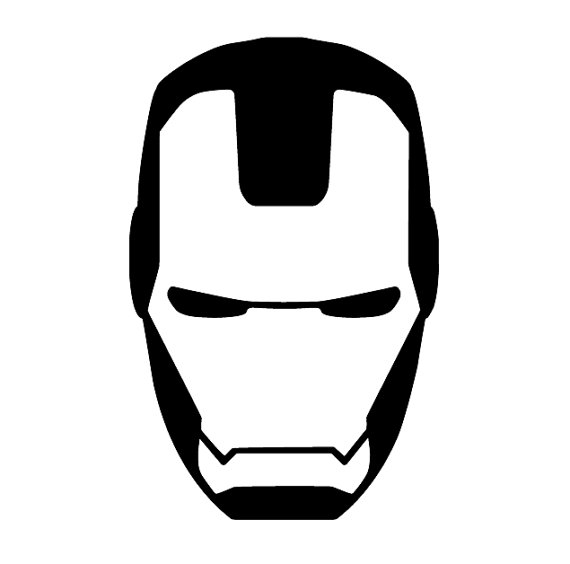 how to draw iron man face ironman head outline clipart best draw man iron to face how