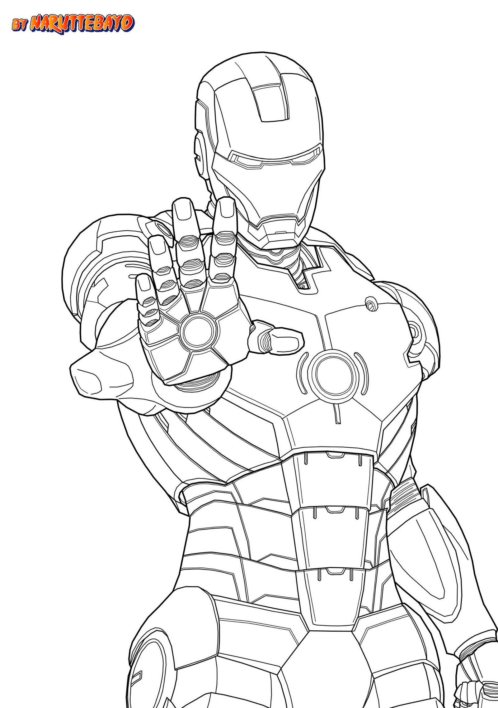 how to draw iron man face ironman marveljapanime lineart noir by naruttebayo67 on draw how man face to iron
