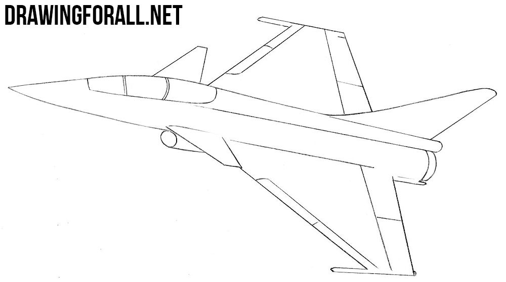 how to draw jet step by step drawing a cartoon airplane in 2020 airplane drawing by jet draw to step step how