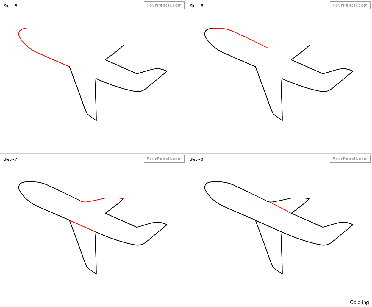 how to draw jet step by step how to draw a fighter jet step by step drawing tutorials by step jet how step draw to