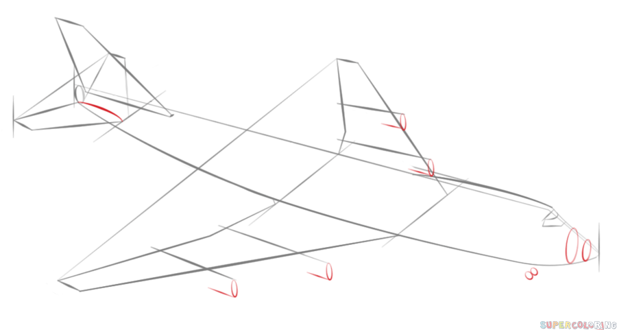 how to draw jet step by step how to draw a jet easy step by step a jet fighter for draw step jet by step how to