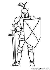 how to draw knights fighting two knights vector royalty free stock images image 4862359 to draw fighting how knights