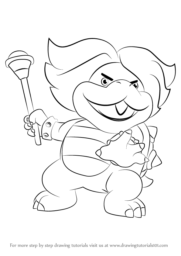 how to draw koopa troopa step by step morton koopa jr coloring pages coloring pages draw step step by koopa how to troopa