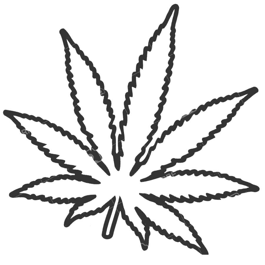 how to draw pot leaf cartoon weed leaf drawing tumblr at getdrawings free download to pot leaf cartoon how draw