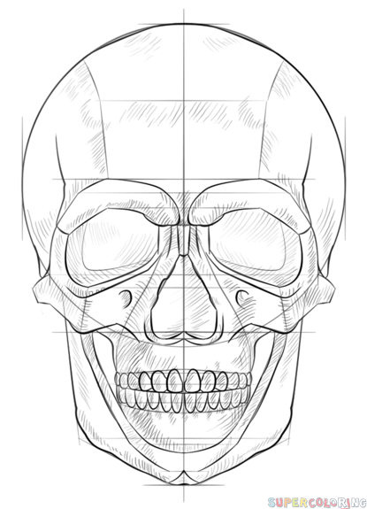 how to draw realistic skulls step by step how to draw a human skull step by step drawing tutorials to step how realistic by step skulls draw