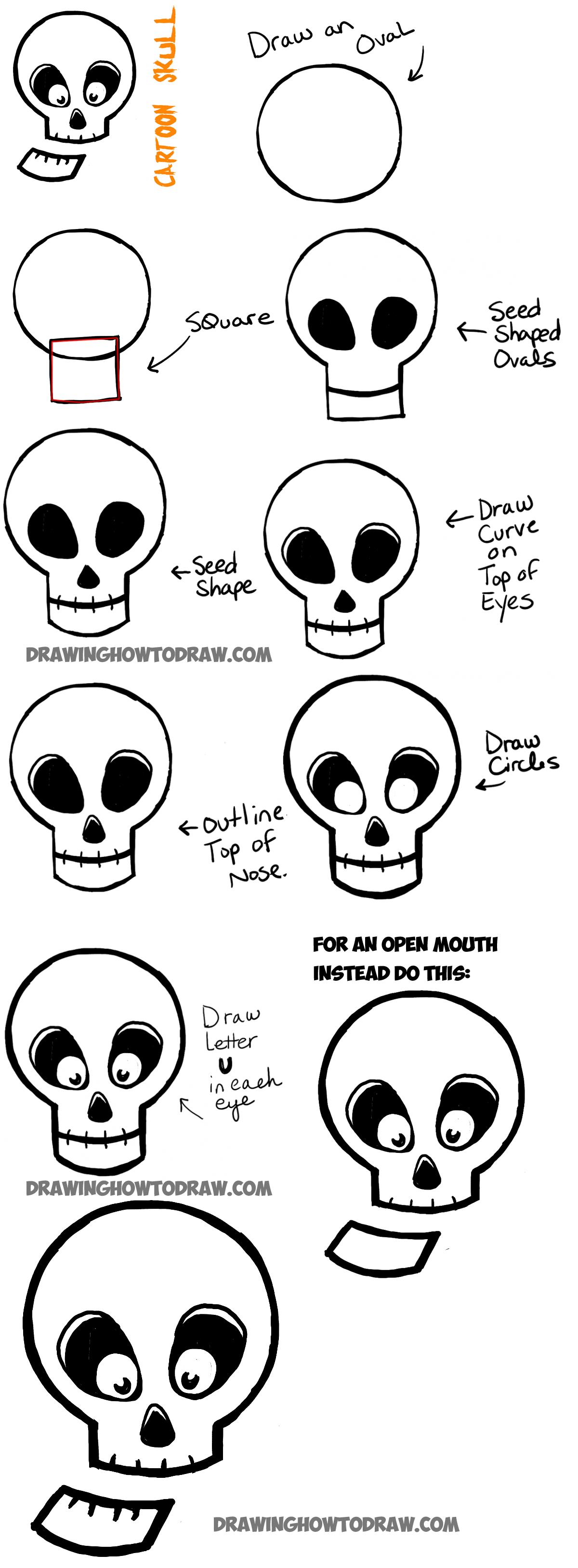 how to draw realistic skulls step by step how to draw a skull easy step by step google search how realistic step draw skulls by to step