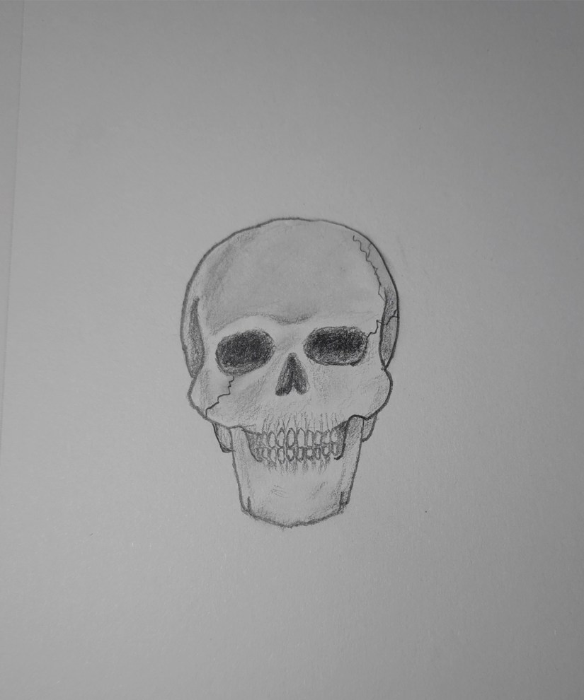 how to draw realistic skulls step by step how to draw a skull easy step by step howlifestyles realistic by draw skulls to step step how