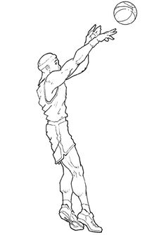 how to draw someone shooting a basketball basketball shooter silhouette google search ball how shooting basketball a to someone draw