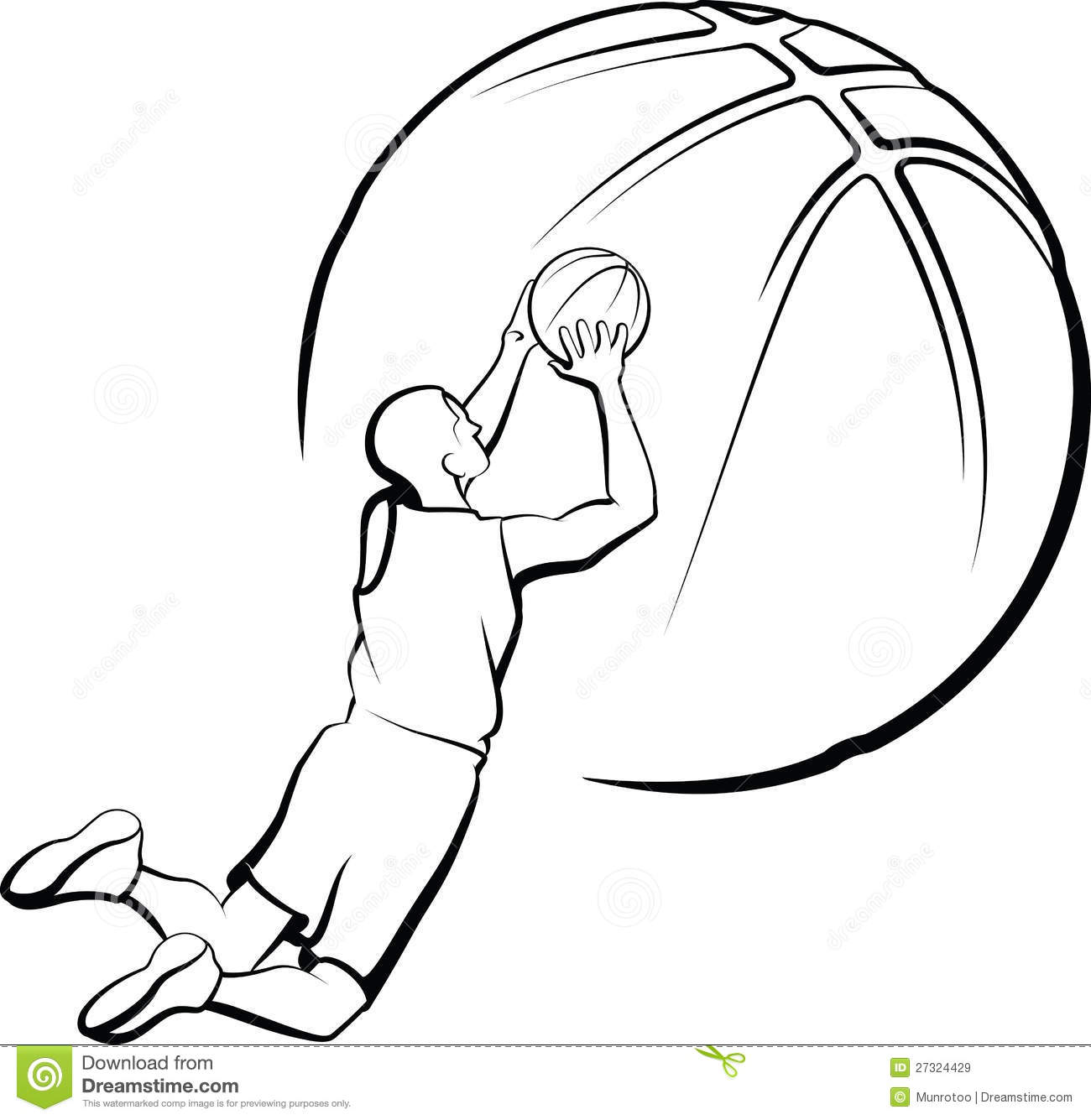 how to draw someone shooting a basketball clipart of a line art cartoon boy shooting a basketball how draw shooting to basketball a someone