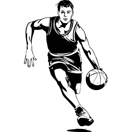 how to draw someone shooting a basketball drawing of basketball player shooting on white background basketball how draw shooting a to someone