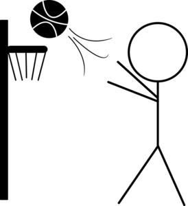 how to draw someone shooting a basketball free basketball shooter cliparts download free clip art to how shooting draw someone basketball a