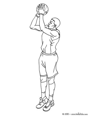 how to draw someone shooting a basketball how to draw a basketball player shooting step by step how to shooting a someone draw basketball