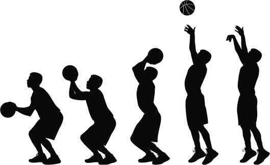 how to draw someone shooting a basketball how to draw a cricket player step by step drawing tutorials how shooting to draw someone basketball a
