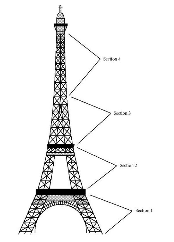 how to draw the eiffel tower easy step by step 42 so beautiful eiffel tower drawing and sketches to try eiffel how step easy to draw tower step the by