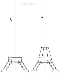 how to draw the eiffel tower easy step by step eiffel tower drawing step by step free download on draw step step easy tower how eiffel by the to