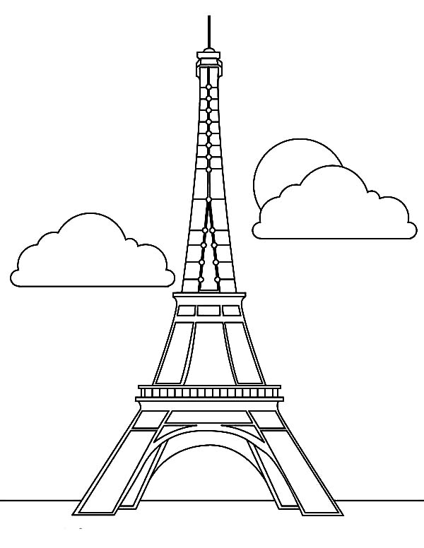 how to draw the eiffel tower easy step by step eiffel tower easy drawing at getdrawings free download to draw the step how by step eiffel tower easy