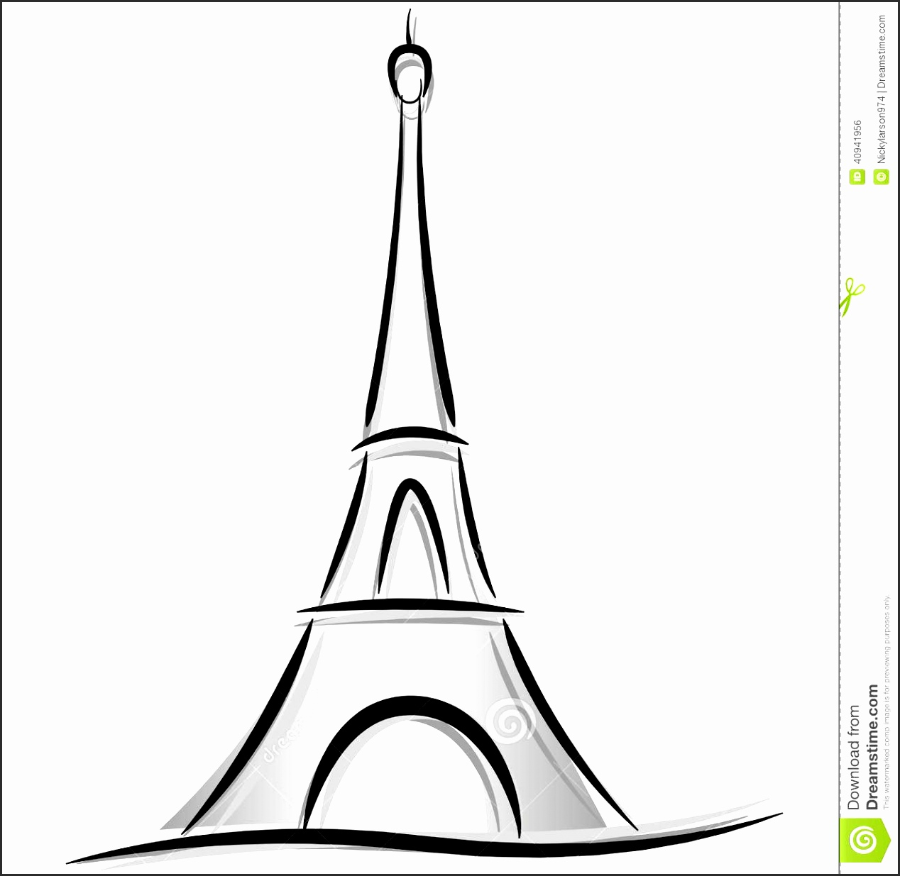 how to draw the eiffel tower easy step by step eiffel tower easy drawing free download on clipartmag step draw the step tower eiffel easy by to how