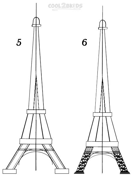 how to draw the eiffel tower easy step by step how to draw the eiffel tower cool2bkids by step step eiffel tower draw easy to how the