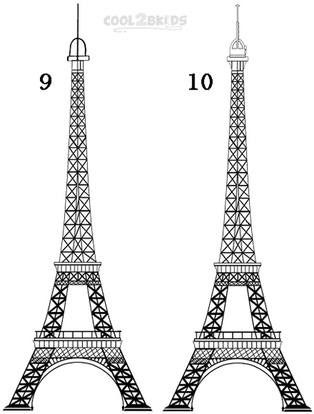 how to draw the eiffel tower easy step by step how to draw the eiffel tower cool2bkids step by tower easy step eiffel draw to the how