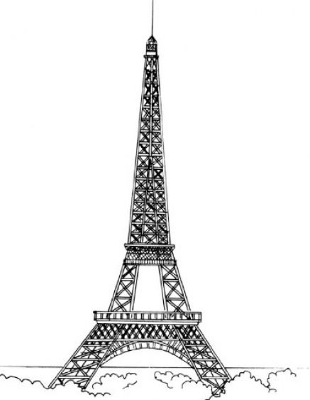 how to draw the eiffel tower easy step by step how to draw the eiffel tower in paris step by step for draw step easy tower to step by how eiffel the