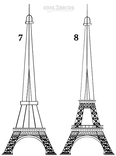 how to draw the eiffel tower easy step by step how to draw the eiffel tower step by step easy mewarnai how tower easy the step draw to by eiffel step