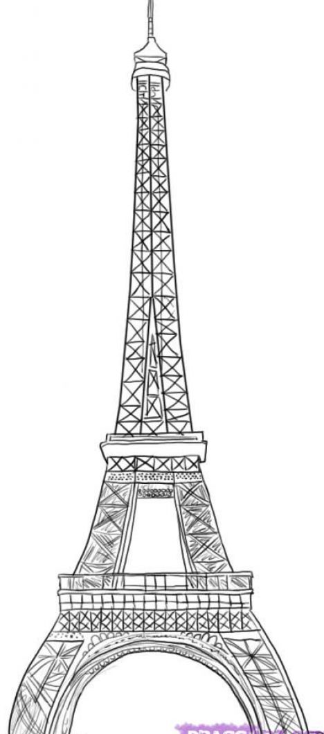 how to draw the eiffel tower easy step by step how to draw the eiffel tower step by step for kids step step to easy draw by the how eiffel tower