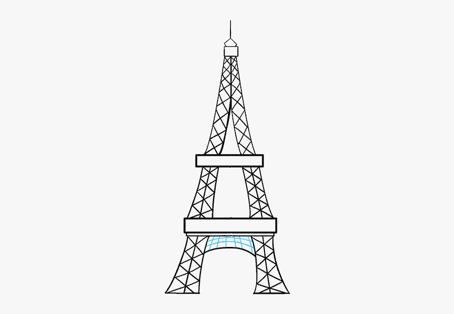how to draw the eiffel tower easy step by step in a few easy steps drawing guides easy draw eiffel easy the how tower step step to by eiffel draw