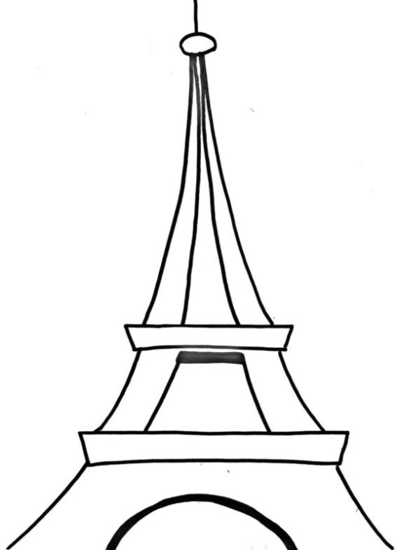 how to draw the eiffel tower easy step by step paris eiffel tower drawing easy free download on clipartmag the step draw how to eiffel tower easy by step