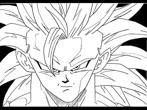 how to goku goku ssgss drawing free download on clipartmag how to goku